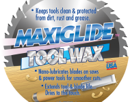Tool Wax Blade label